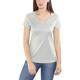 Columbia Zero Rules Short Sleeve Shirt Women columbia grey heather